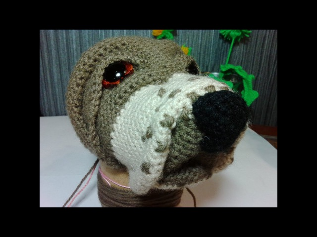 Собака Бигль, ч.1. Dog Beagle, р.1. Amigurumi dog. Амигуруми собака.