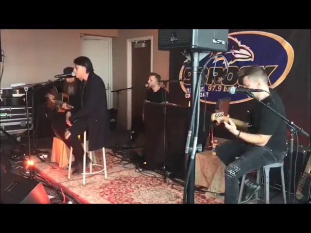 Three Days Grace -Painkiller Live Acoustic at Baltimore Rock Radio 2018
