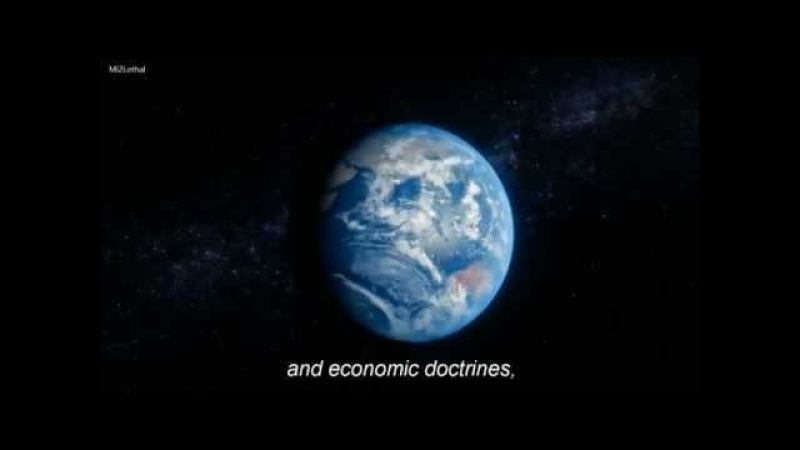 Carl Sagan's Famous 'Pale Blue Dot' Quote in 'Cosmos A Spacetime Odyssey' HD with subtitles