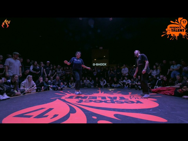 RESPECT MY TALENT-2017 Moscow. House Pro 1/4 - Carl vs. Zaki