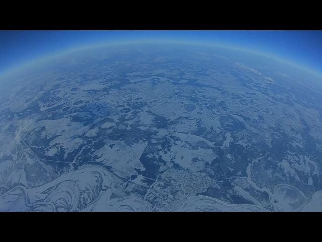 Квадрокоптер поднялся на 10 километров. / High altitude drone flight record FPV