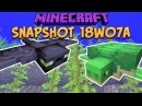 Minecraft 1.13 Snapshot 18w07a Update Aquatic Arrives, Phantom Mob, Turtle Mob, Trident More