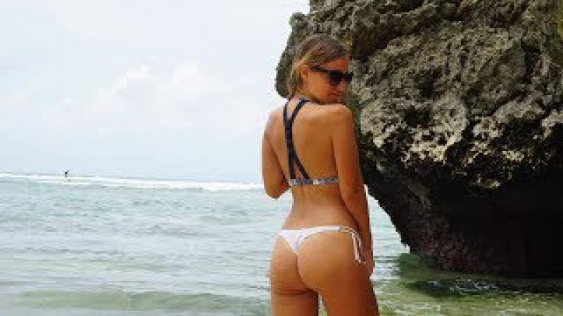 Отдых на Бали! Пляж Джулии Робертс! Едем по дороге через океан! Padang Padang Beach