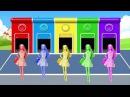 Барби Barbie Учим цвета на английском Мультики Мультфильмы смотреть 2017