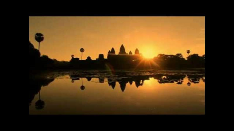 Largest Religious Monument in the World, Angkor Wat, Cambodia.