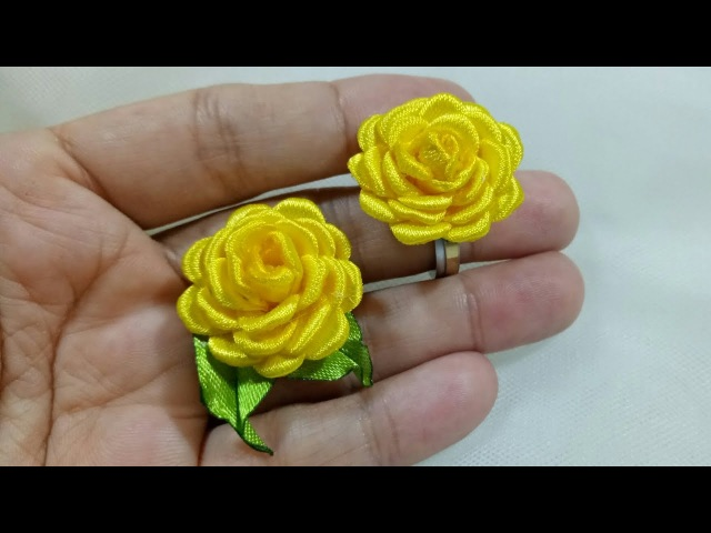 107) Tutorial Tiny Rose for ring/earring || Mawar mungil untuk cincin/anting
