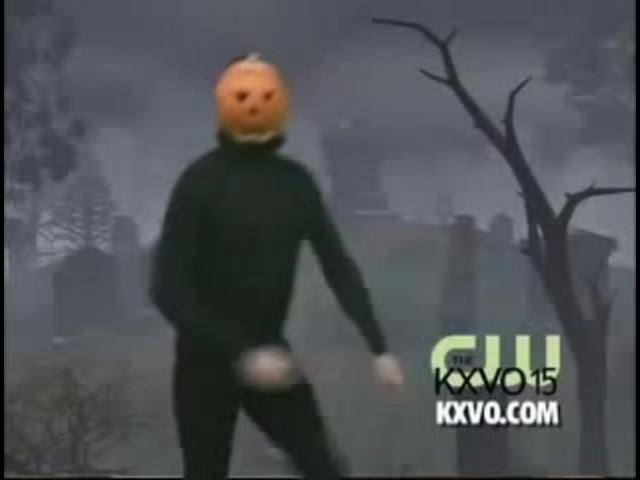 Random pumpkin dude