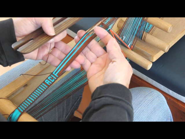 Weaving Letters on an Inkle Band