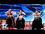 Shani Belly Dancers break the BGT buzzers! Week 1 Auditions Britains Got Talent 2016