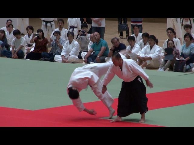 第62回演武会 養神館 龍 安藤先生 -2017 Demo Yoshinkan ryu Ando sensei