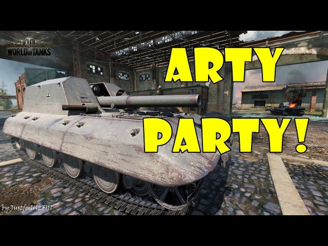 World of Tanks - Funny Moments | ARTY PARTY! 44