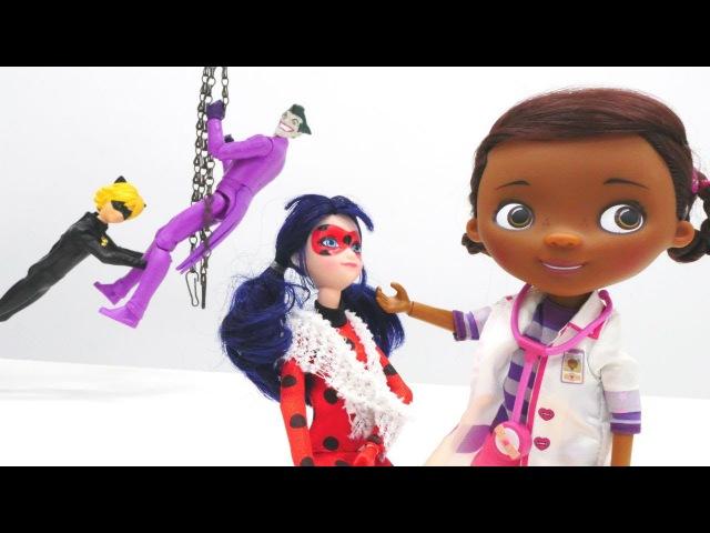 Ladybug Dr Mac Stuffins'e geliyor Kız evcilik oyunu