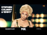The Emmy's 2017 | Stephen Colbert exclusive interview with Emmy (RuPaul) | FOX