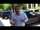 M-a împins cu umărul pentru că filmam o ilegalitate la Primăria București -