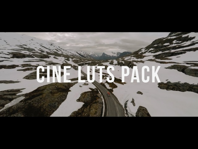Cine LUTs Pack - Presets To Make Your Footage Look Cinematic