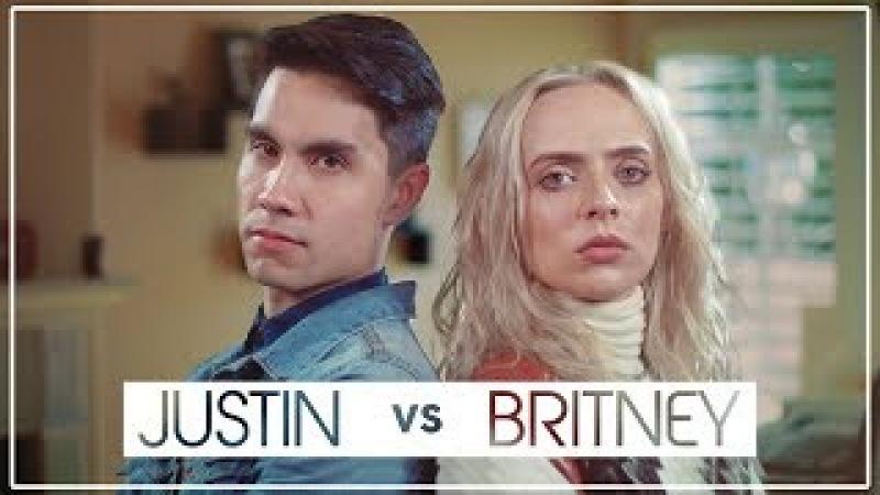 Justin Timberlake VS Britney Spears MASHUP!! ft Sam Tsui Madilyn Bailey