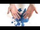 Кинетический песок триколор от WABA Fun
