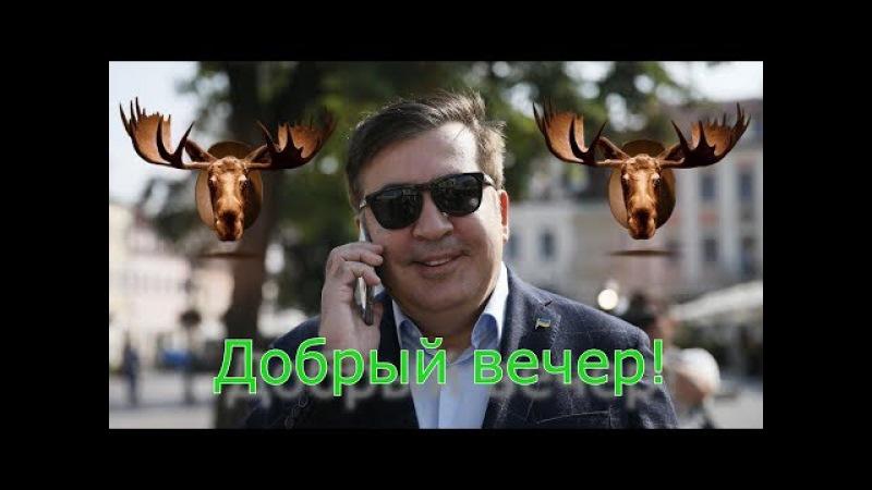 «Добрый вечер!»: к вам пришёл Саакашвили
