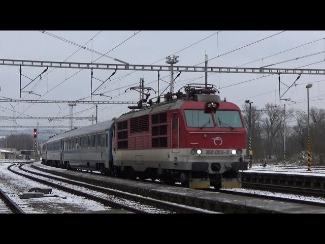 Vlaky Skalice nad Svitavou 3.12.2017