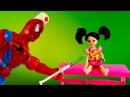 Куклы Барби Доктор Поросячий грипп мультик с игрушками игры для девочек
