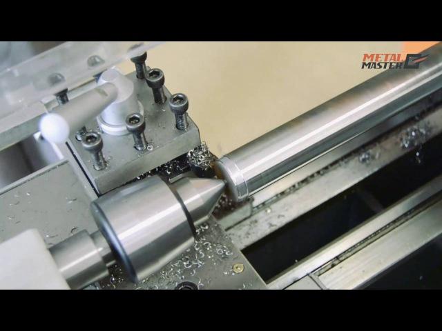 Токарный станок Metal Master MML 1830 V - тест на максимальный съем по стали.