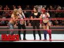 Video@alexablissdaily | Alexa Bliss applauds Asuka's WrestleMania decision: Raw, March 12, 2018