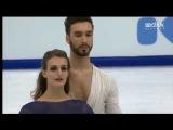 Gabriella Papadakis &amp Guillaume Cizeron (FRA) - Europeans 2018 FD