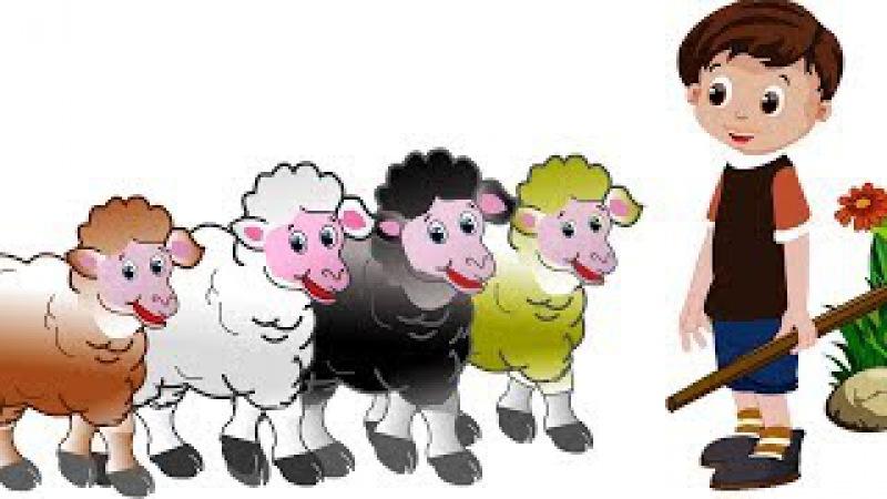 English Nursery Rhymes For Children | Baa Baa Black Sheep | Popular Nursery Rhymes For Babies