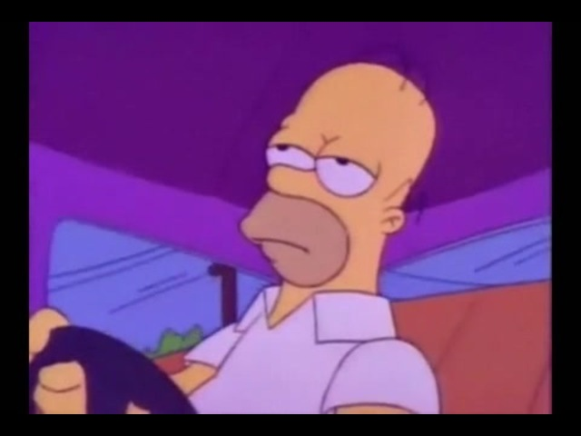 Sad Homer Simpson · coub, коуб