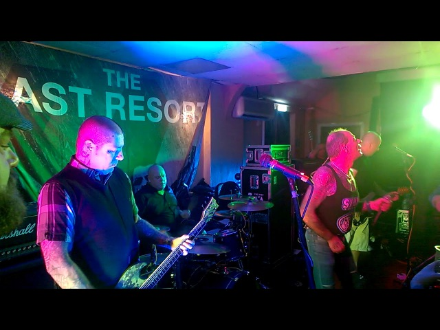 LAST RESORT - Rebels with a Cause - Live in Stoke-on-Trent, 27.01.2018