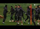 Тренировка ФК Суонси Сити Training FC Swansea City