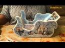 МК Санки Деда Мороза Шаг 2 часть 2