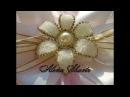 Серединки-цветочки для бантиков своими руками / Канзаши Легко Просто Alena Shavtr