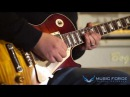 MusicForce Gibson Custom 1959 Les Paul Reissue Demo One Day Gary Moore Cover