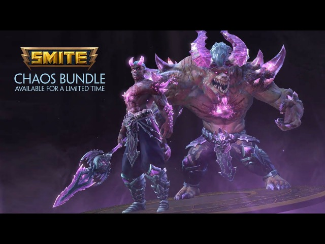 SMITE Chaos Bundle Available for a Limited Time