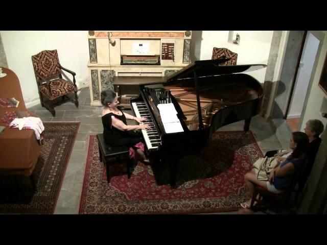 Marcella Crudeli in concerto - Chopin: Fantaisie-Impromptu