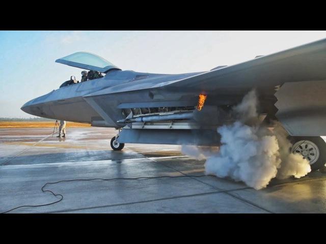 Запуск двигателя на военных самолетах. Реактивные vs Пропеллерные.