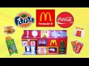 MEGA Ultimate LEGO Mechanical McDonald's Vending Machine | 2 Sodas, Fries, Apple Pie