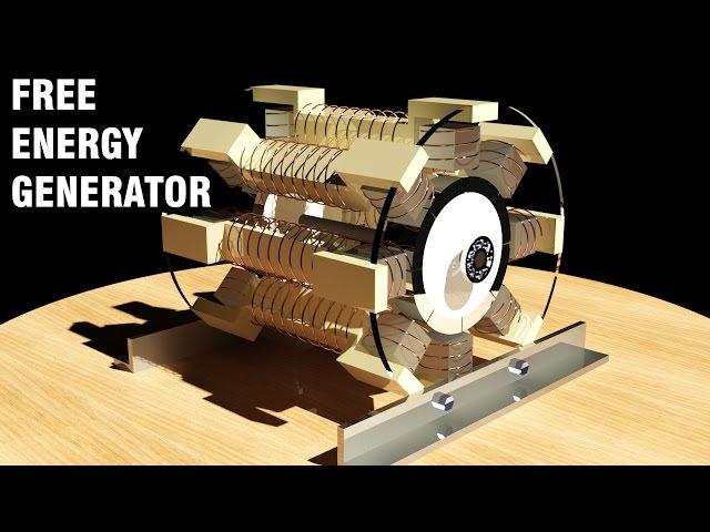 Free Energy Generator 2017, No Load Generator, Magnet Motor, Overunity