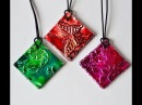 How To Make Gorgeous Pendants From Recycled Card, Tin Alcohol Inks