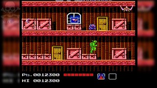 [Famiclone-50HZ]T. M. Ninja Turtle 1 激亀忍者伝 - Gameplay