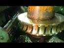Колесо червячное нарезка резцом летучкой