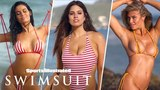 Ashley Graham, Anne de Paula, Samantha Hoopes Go Retro, Reveal All   Sports Illustrated Swimsuit