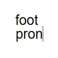 Foot Pron