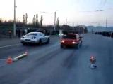 Драг ВАЗ-2108 vs Nissan Skyline GTR