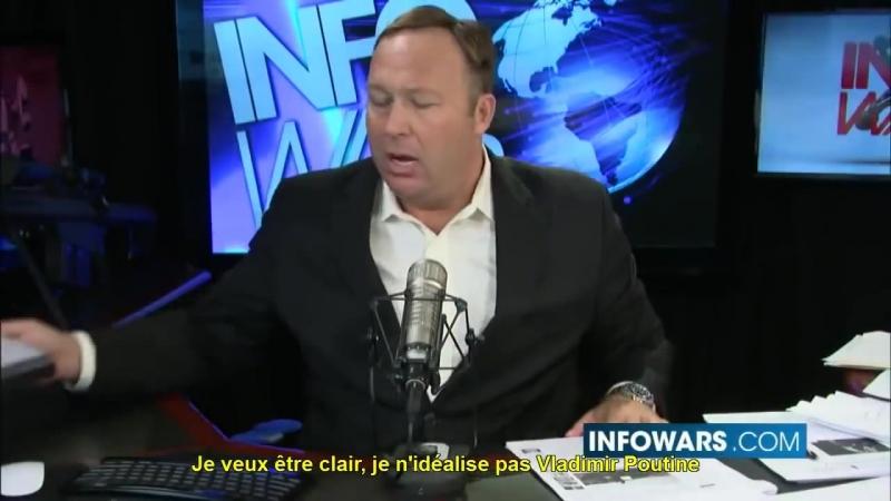 Chaîne YT Alex Jones Infowars En Français VOSTFR Alex Jones Accuse George Soros du d'État en Ukraine