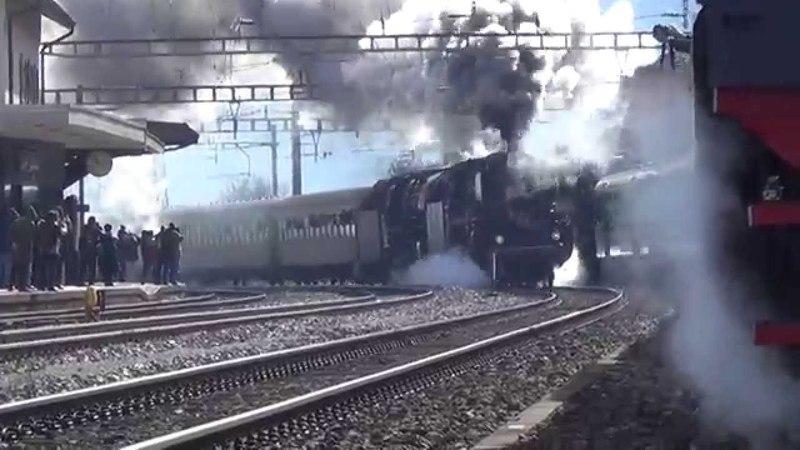 Tripla trazione a vapore sul Gottardo – Dreifachtraktion volldampf am Gotthard – part 5