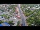 Красноглинское шоссе и закат солнца г.Самара Samara Russia