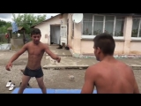 romanian boys wrestle for fun - part 15