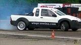 Fiat Strada LS3 6.2 450HP 600Nm Krystian Morawietz Driftingowe Mistrzostwa Polski r1 Bemowo 2018